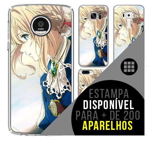 Capa de celular - Violet Evergarden [disponível para + de 200 aparelhos]
