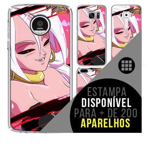 Capa de celular - dragon-ball-fighterz-android-21 [disponível para + de 200 aparelhos]