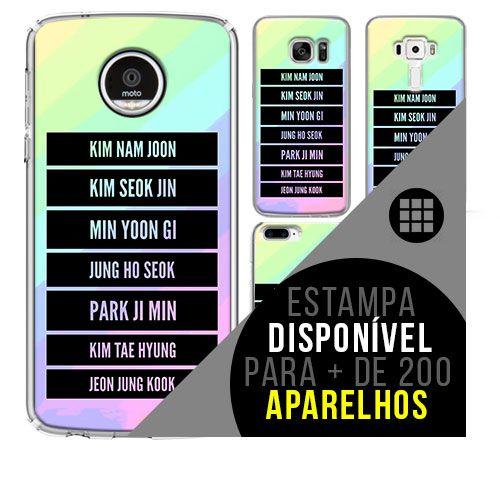 Capa de celular - BTS (Bangtan Boys) 32 [disponível para + de 200 aparelhos]
