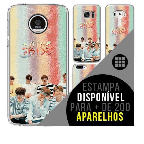 Capa de celular - BTS (Bangtan Boys) 33 [disponível para + de 200 aparelhos]