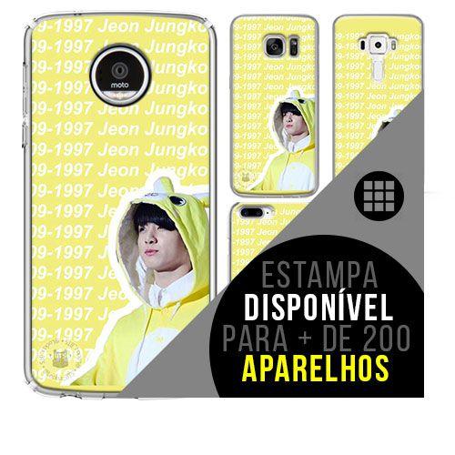Capa de celular - BTS - Jeon Jung-kook [disponível para + de 200 aparelhos]