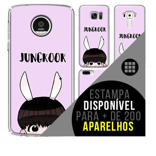 Capa de celular - BTS - Jeon Jung-kook 3 [disponível para + de 200 aparelhos]