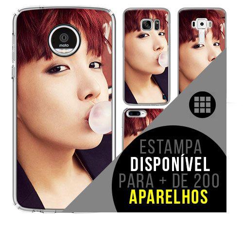 Capa de celular - BTS - J-Hope 3 [disponível para + de 200 aparelhos]