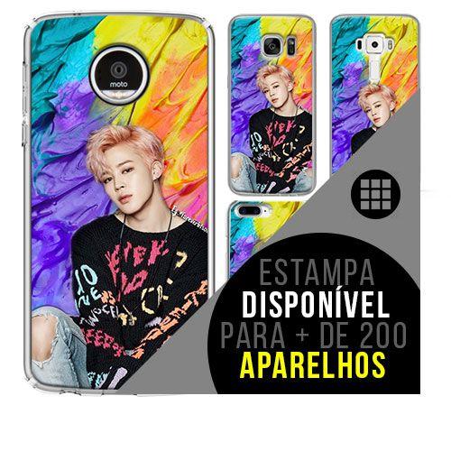 Capa de celular - BTS - Park Ji-min 5 [disponível para + de 200 aparelhos]