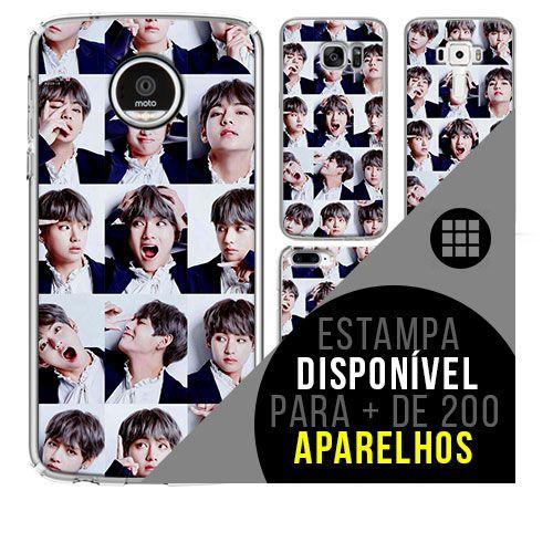 Capa de celular - BTS - V 3 [disponível para + de 200 aparelhos]