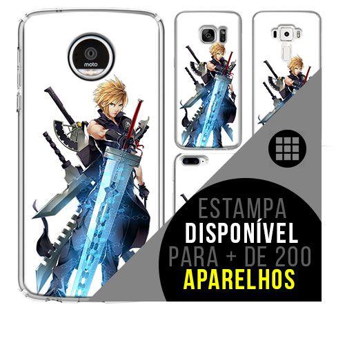 Capa de celular - Final Fantasy 102  [disponível para + de 200 aparelhos]