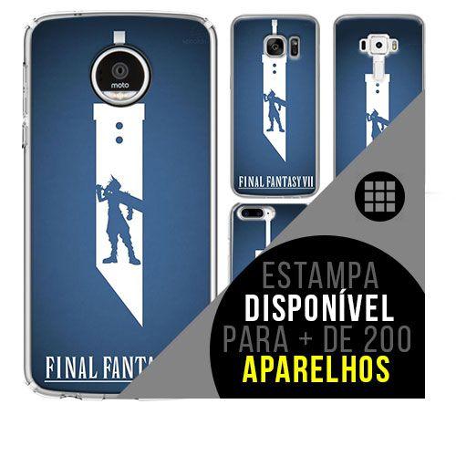 Capa de celular - Final Fantasy 101  [disponível para + de 200 aparelhos]