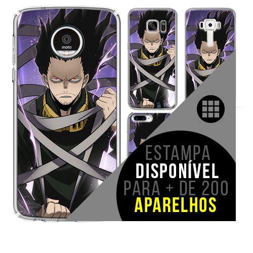 Capa de celular boku-no-hero - Shota-Aizawa 100 [disponível para + de 200 aparelhos]