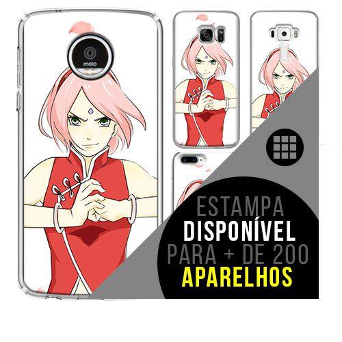Capa de celular - NARUTO Sakura 2 [disponível para + de 200 aparelhos]