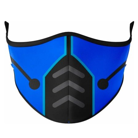 Máscara de tecido / Pano Sub Zero - Mortal Kombat