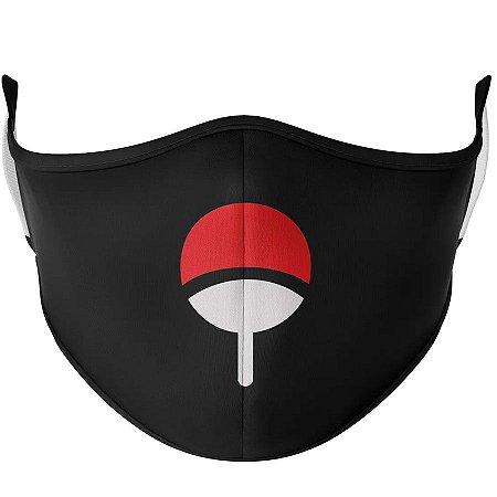 Máscara de tecido / Pano Naruto Sasuke Uchiha