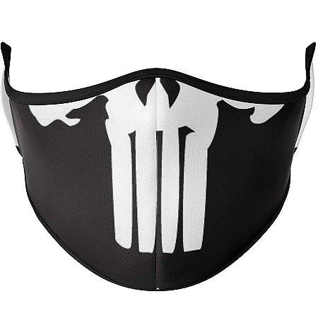 Máscara de tecido / Pano Caveira Punish