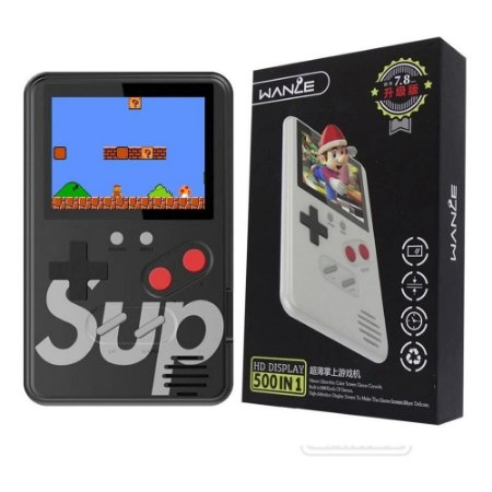 Mini Game Retro 500 jogos HD
