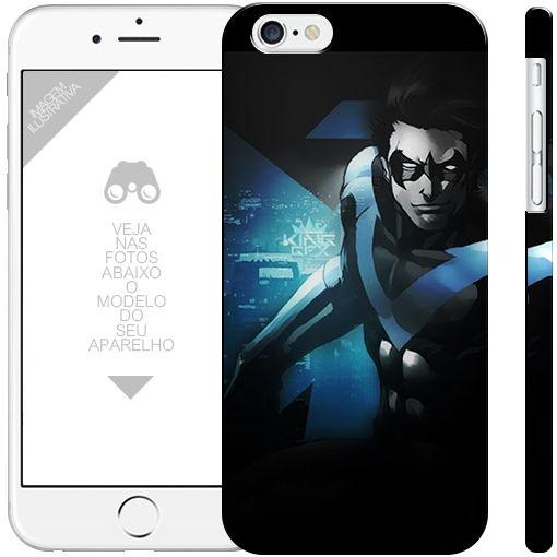 ASA NOTURNA - heróis  1 | apple - motorola - samsung - sony - asus - lg | capa de celular