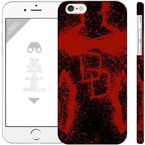 DEMOLIDOR - heróis  0 3 | apple - motorola - samsung - sony - asus - lg | capa de celular