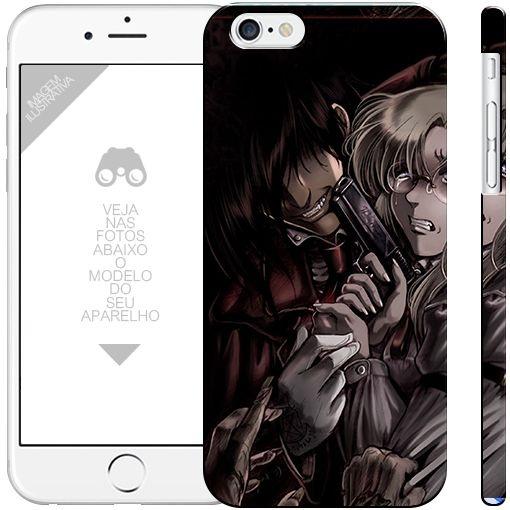 HELLSING anime 00000007 | apple - motorola - samsung - sony - asus - lg | capa de celular