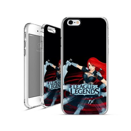 LEAGUE OF LEGENDS - Katarina|apple - motorola - samsung - sony - asus - lg|capa de celular
