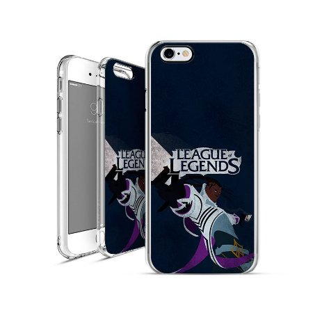 LEAGUE OF LEGENDS - Lucian  apple - motorola - samsung - sony - asus - lg capa de celular