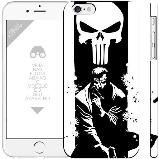 O JUSTICEIRO - heróis - 1| apple - motorola - samsung - sony - asus - lg |capa de celular