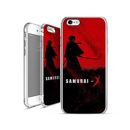 SAMURAI X anime 00 1 01    apple - motorola - samsung - sony - asus - lg   capa de celular