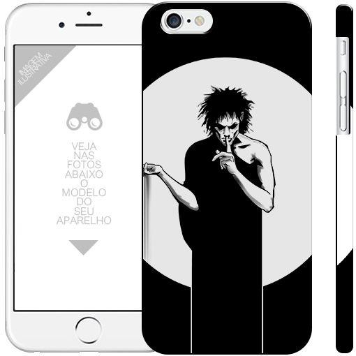 SANDMAN - coleção heróis 1|apple - motorola - samsung - sony - asus - lg |capa de celular
