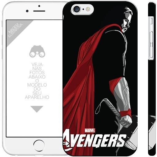 THOR - heróis  - 1  - | apple - motorola - samsung -  sony - asus  - lg | capa de celular