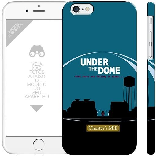 UNDER THE DOME  - séries| apple - motorola - samsung -  sony - asus - lg| capa de celular
