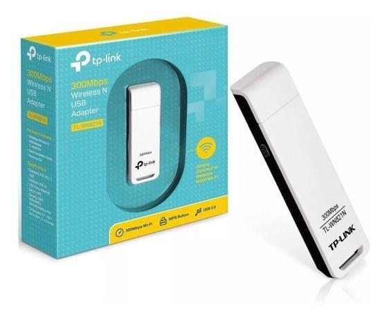 Adaptador Wireless Usb 300 mbps Tplink TLWN821N