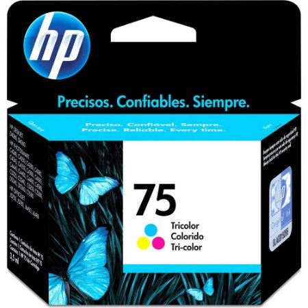 Cartucho Original Hp 75 Colorido Inkjet CB337WB