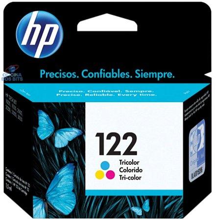 Cartucho Original Hp 122 Colorido Inkjet