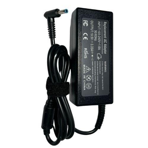 Fonte Carregador Notebook Hp 240 G6 G5 19,5v 65w Plug Azul