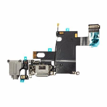 Cabo Flex Flat Iphone 6g Dock Conector Carga Usb Preto