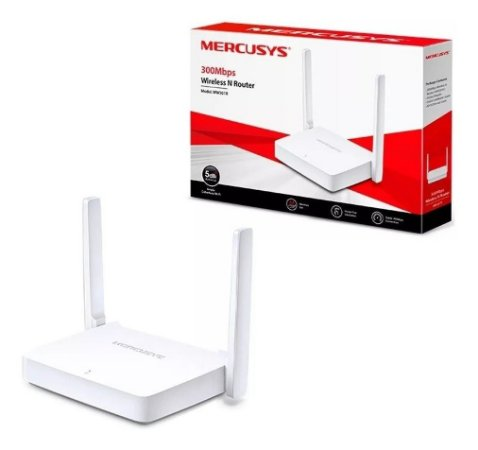 Roteador Wireless 300mbps 2400mhz Mw301r Mercusys