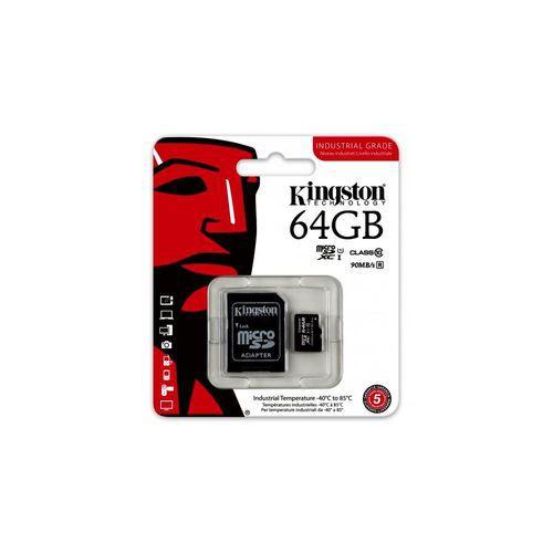 Cartao de Memoria Kingston Micro Sd 64GB Classe 10 A1 100mb/s SCCS2/64GB
