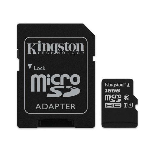 Cartao de Memoria Kingston Micro Sd 16GB Classe 10