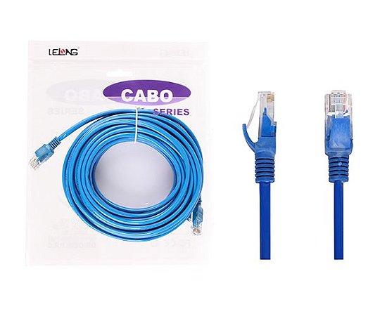 Cabo de Rede 10m RJ45 Ethernet Cat5 Pluscable / Lelong