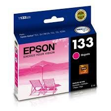 Cartucho Epson Compativel 133 Magenta 8ML