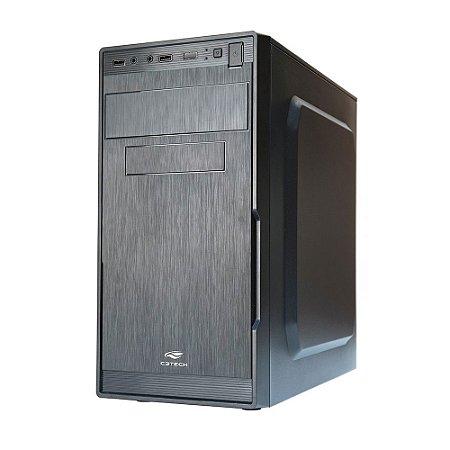 Gabinete Desktop 1 Baia Mt23bk 200w Preto C3tech