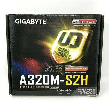 Placa Mae Desktop Amd Am4 GAA320MS2H Ddr4 Gigabyte