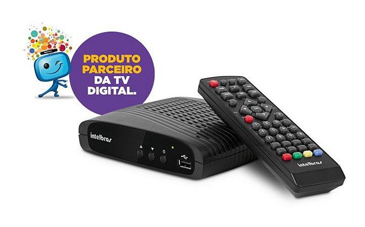 Conversor Digital de Tv Com Gravador CD 636 Intelbras 4143001