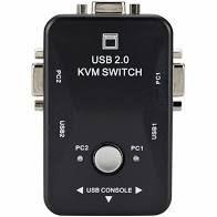 Controlador Multiplo KVM 02 Portas USB DB15 VGA HUB0019 IMM