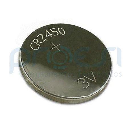 Pilha Bateria CR2450 3V Elgin