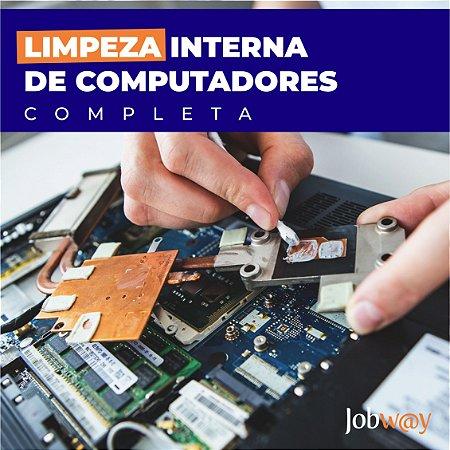 Limpeza Interna Computador Básica (geral nos componentes)