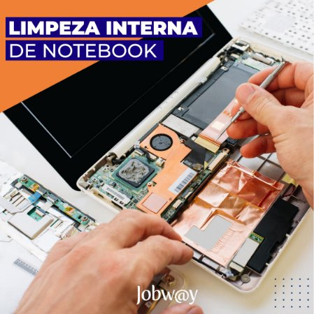 Limpeza Interna de Notebook / Desktop Completa (retirado todos os componentes e lubricados)