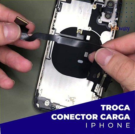 Troca Conector Carga iPhone