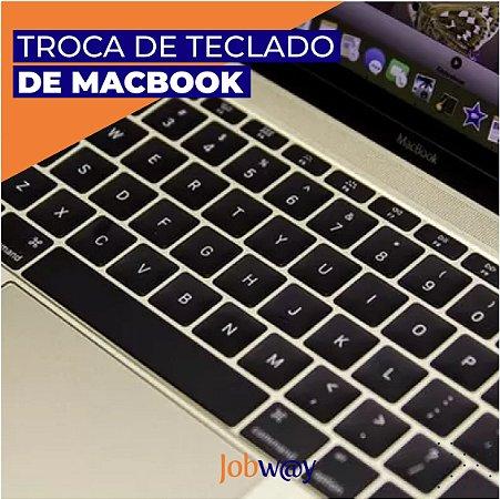 Troca de Bateria ou Teclado Macbook