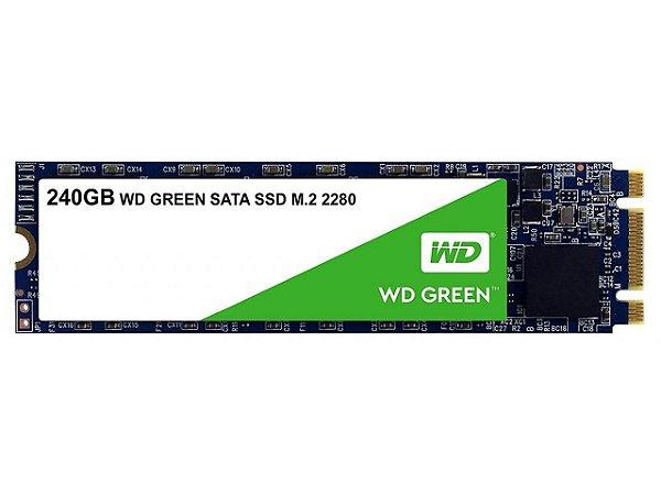 Ssd 240gb M2 Sata 3 3D WDS240G2G0B Green