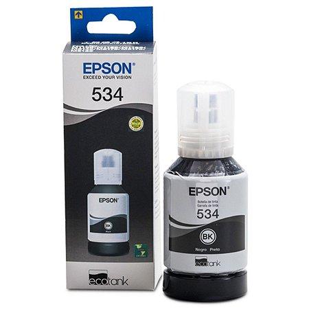 Refil de Tinta Epson T534120-AL Preto (Ecotank M1120/M2170/M3170)