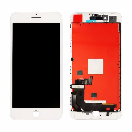 Display Iphone 8 Plus Branco (troca de vidro, display original)