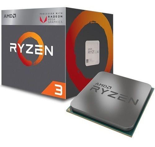 Processador Amd Am4 Ryzen R32200G 3.7GHZ 6mb